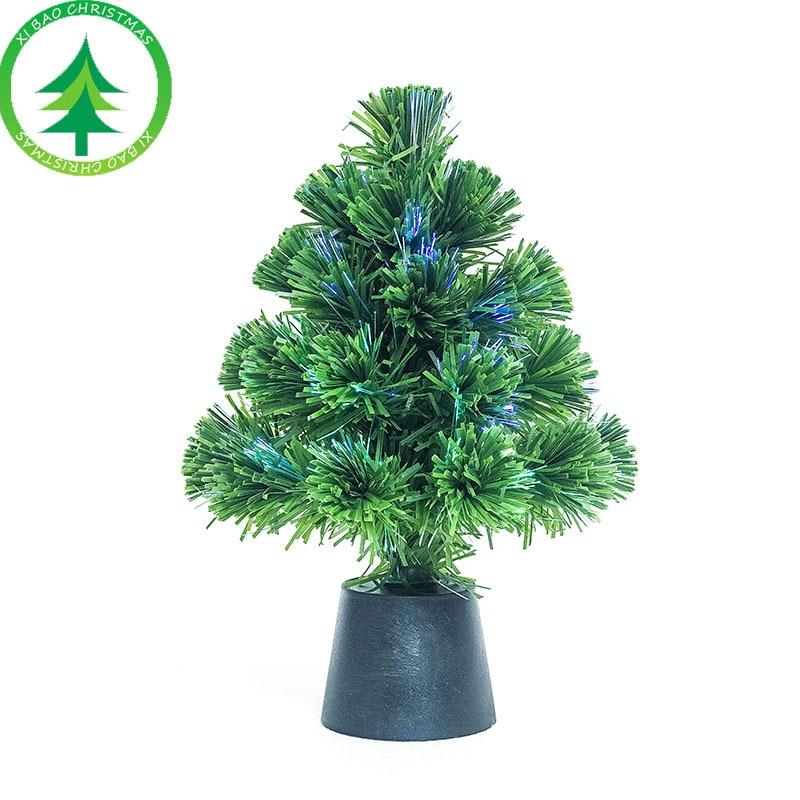 Mini Christmas Tree Small Pine Tree USB Artificial ...