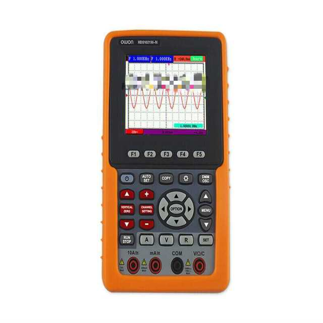 Best Offers Newest 2 in 1 OWON Handheld HDS1021M_N 20M 3.7''TFT DSO Oscilloscope
