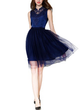 2016 einfache Design Stil A-Line Spitze Mini Graduation Dresses Seitlichem Reißverschluss Tulle Fantasie Homecoming Cocktail Party Kleider