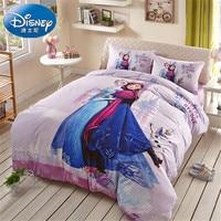 Disney Authentic Frozen bedding set for kids bedroom decor cotton bedclothes duvet cover set girls home textile bedspread