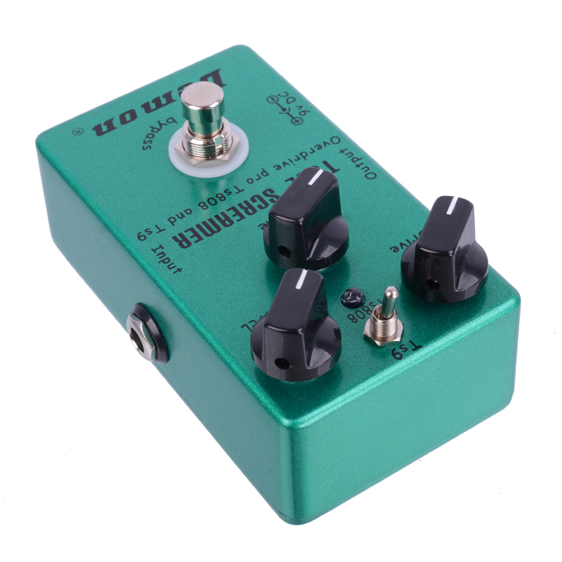 Demon TS808 Tube Screamer Overdrive Pro Vintage Electric Guitar Effect Pedal