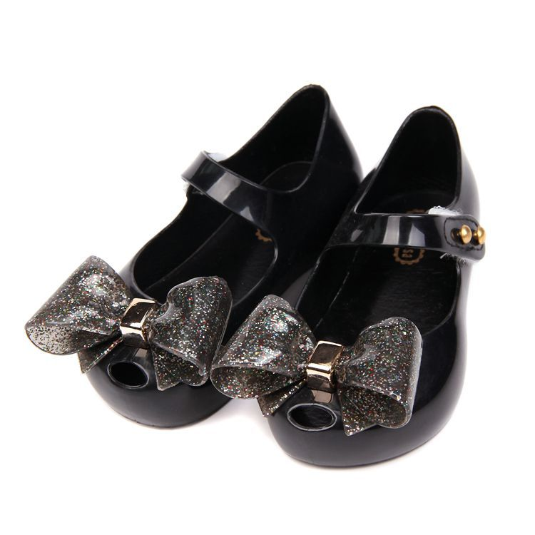 7b08775dea80 Melissa Jelly Shoes For Girls Sandals 2019 New PVC Bow Soft Comfort Kids Sandal  Shoe Toddler Girl SandalsToddler Sandals