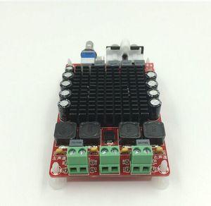 Image 4 - TDA7498ハイパワーデジタルアンプボード2*100ワットの車のアンプdc 12v 24用スピーカー