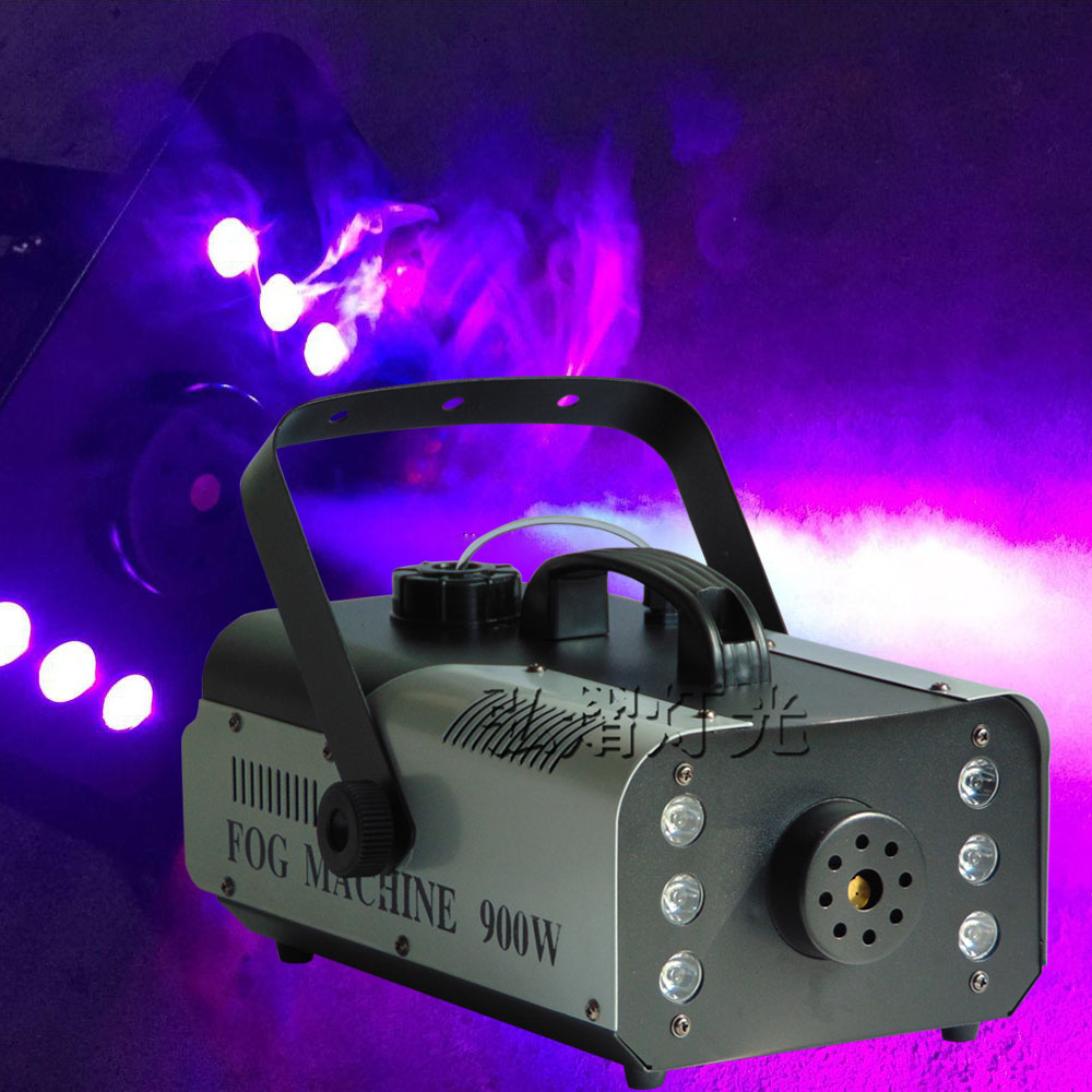 Mini 900W LED RGB 3in1 Wireless remote control fog machine pump dj disco smoke machine for party wedding Christmas stage fogger mini 400w wireless remote control fog machine pump dj disco smoke machine for party wedding christmas stage fogger