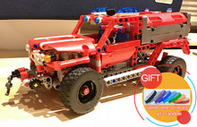 20079 575Pcs Technical Series The First Responder set Building Blocks Compatible with 42075 Toys Gifts lepin