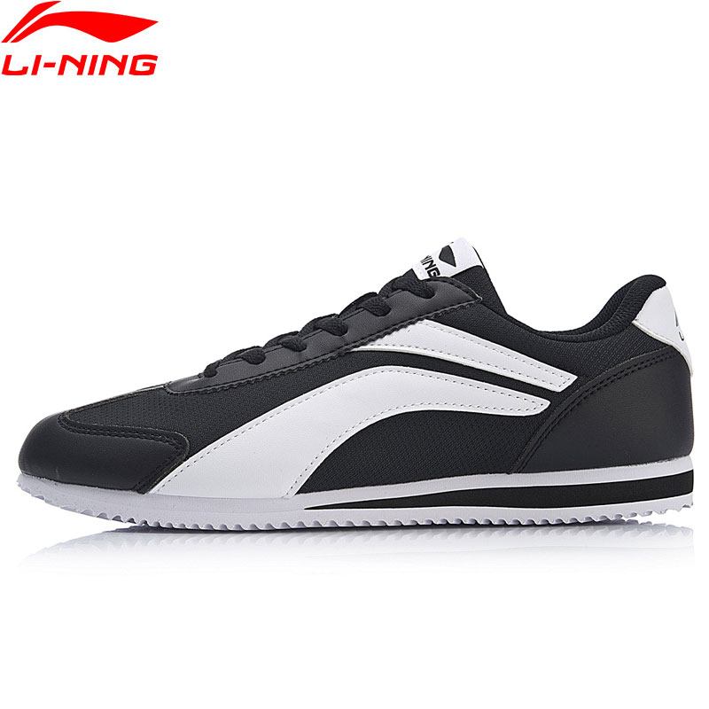 Li-Ning Women 3KM Walking Shoes Breathable Leisure LiNing Classic Sports Shoes Fitness Sneakers AGCN286 SJAS18