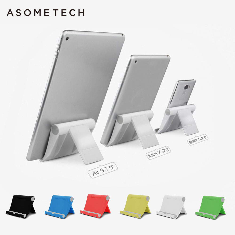 Universal adjustable PC Tablet Stand for Apple ipad 2 Air 1 Pro 9.7 For Iphone x 8 7 6s Samsung Xiaomi Huawei Desk Tablet Holder hbt3570100 universal 3 7v 3000mah built in battery for 7 8 9 10 10 1 tablet pc silver