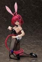 Anime To Love Darkness Kurosaki Meia Sexy Bunny Girl Ver PVC action figure model Toy 1/4 Size