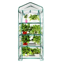 ON SALE Garden Grow Bag Household Plant Greenhouse Mini Flower House Outdoor Shed Flower Warm Fostering