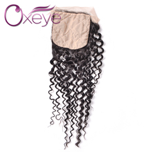 7A Brazilian Silk Bace Frontal Water Weave Frontal Virgin Human Hair Water Silk Base Lace Frontal Brazilian Frontal Closure
