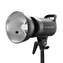 2017 Photo Light GODOX SK300 profesional Studio Strobe SK 110 V daya 5600 K Max 300WS GN58 kilat lamp Studio lamp EU PLUG SK-300
