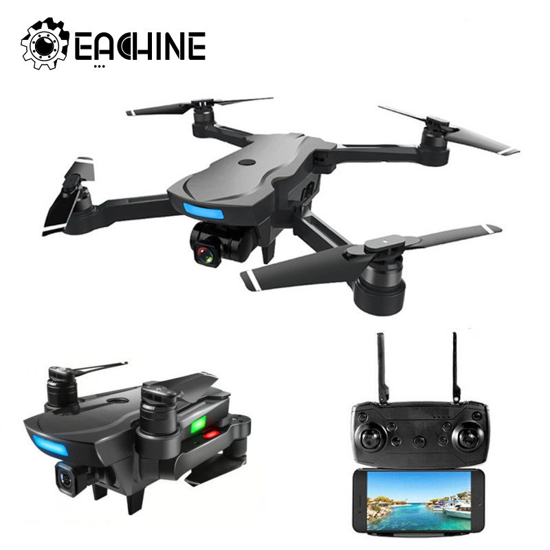 Eachine CG033 quadrirotor WiFi FPV w/HD 1080 P Caméra à support GPS Brushless Servo Pliable RC DRONE RTF ENFANTS Cadeau