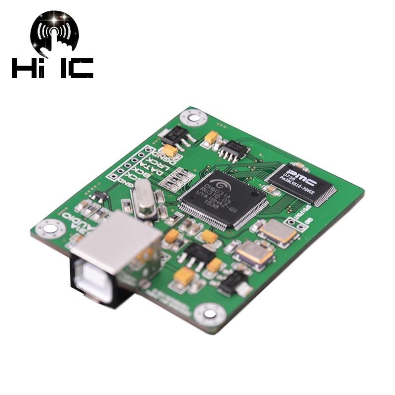 hifi cm6631a digital interface 24bit 192k 384k asio driver sound card usb to i2s spdif output. Black Bedroom Furniture Sets. Home Design Ideas