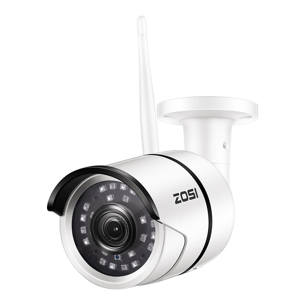 ZOSI Wireless Security IP Camera,1080p Full HD Outdoor Weatherproof WiFi IP Surveillance Bullet Camera Motion Detection Alarm