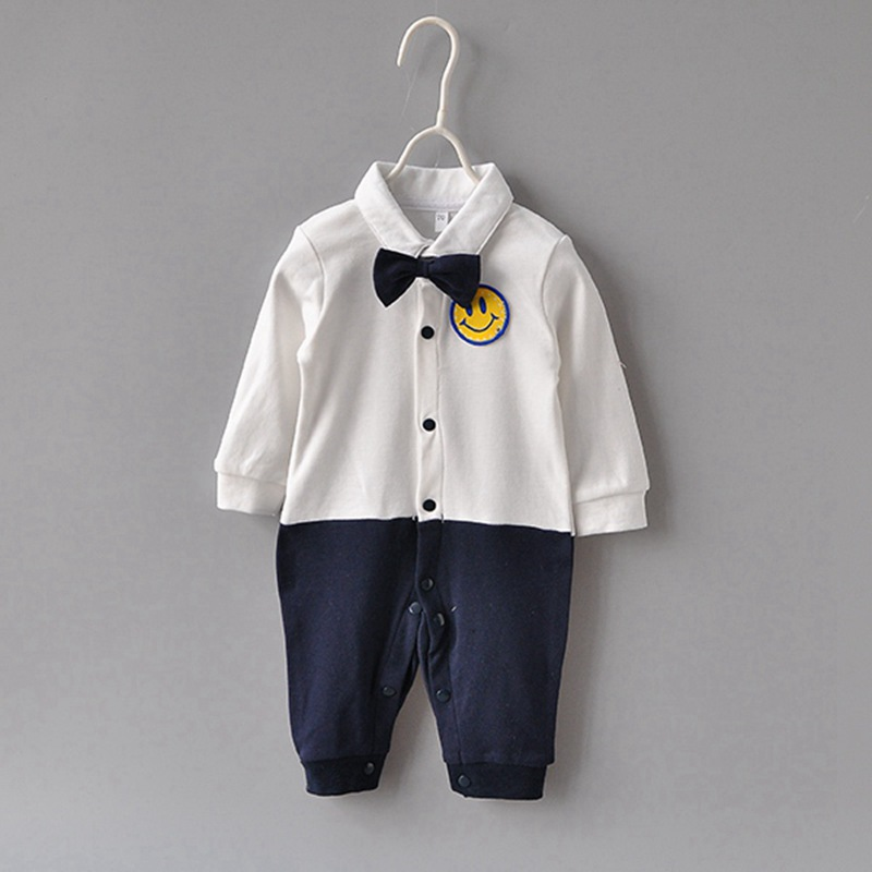 newborn Kids boys romper Baby boy clothes fashion toddler baby outfit , infant Toddler Prewalker romper Age 0-2 year C4245