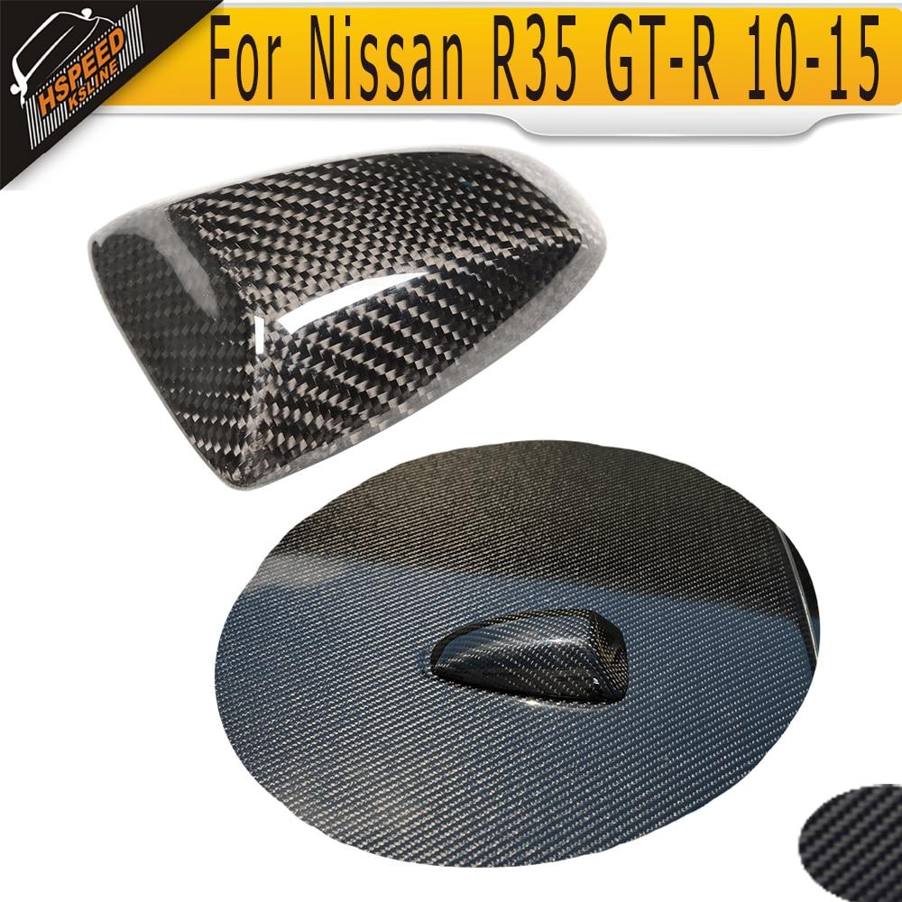 Carbon Fiber Roof Antenna Exterior Trim til Nissan R35 GT-R GTR 2010 - Bilreservedele - Foto 1
