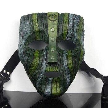 Di alta Qualità Cameron Diaz Loki La Maschera Jim Carrey Veneziana Resina Cosplay Maschere Dio del Male di Travestimento Replica Costume di Scena