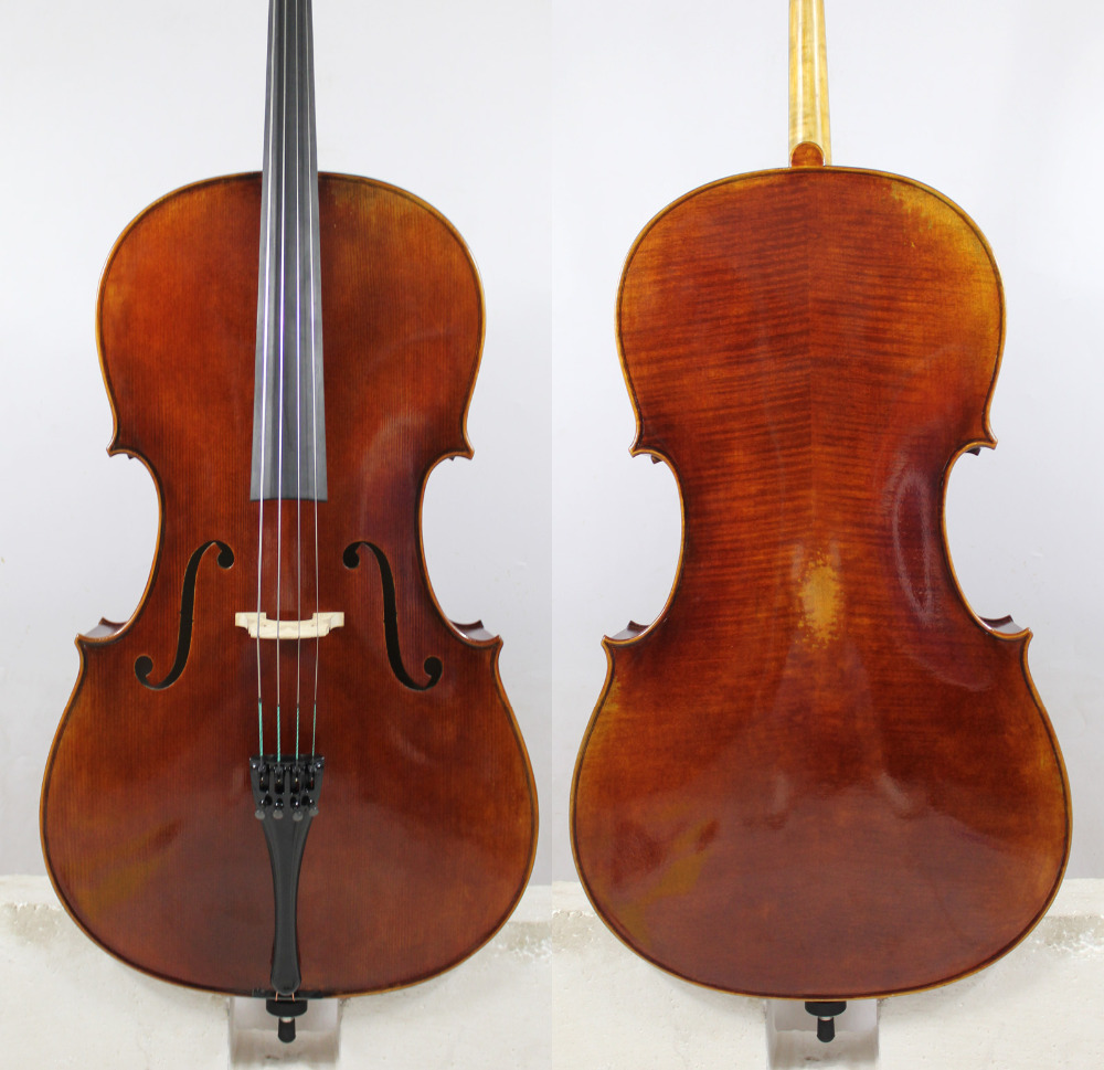Alessandro Gagliano 1704 Copy 4/4 Cello  Master level!European Wood!+ Free Case, Bow, Rosin,Shipping!