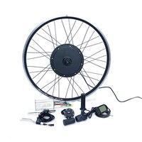 Передний или задний мотор 40 км/ч е-байка 36В 500 Вт DIY электрический велосипед набор для электровелосипеда комплект колесной базой для 20