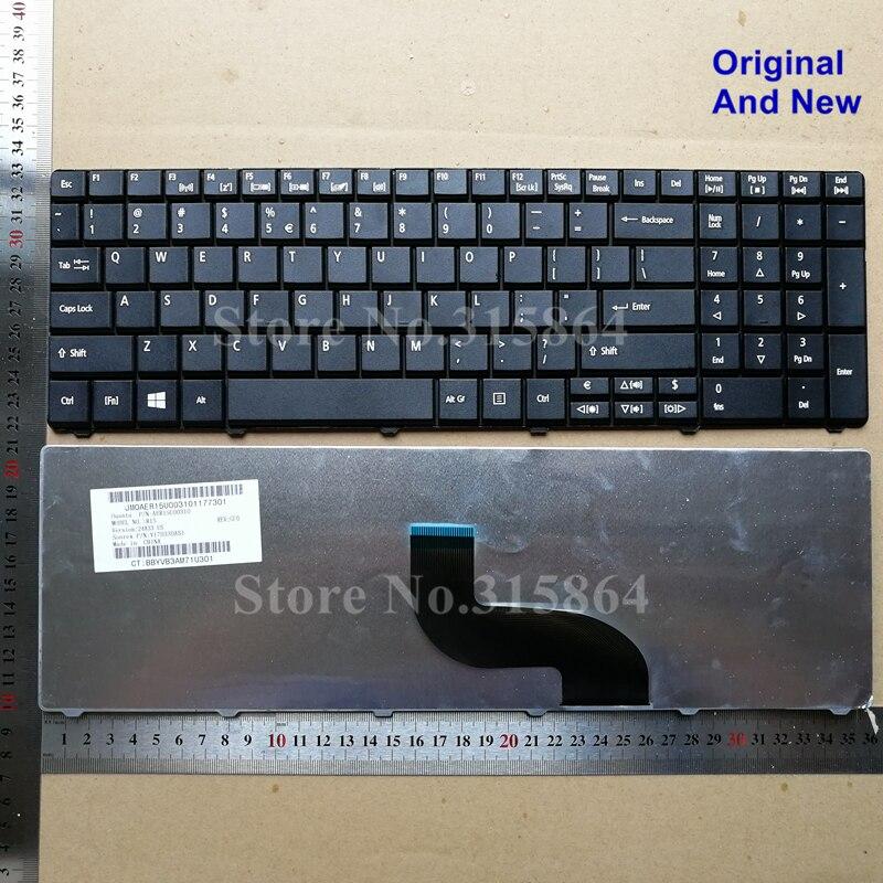 Nuevo teclado portátil para ACER E1-531G E1-521 E1-571G P253 Q5WPH Travel Mate TM P253-SMB P253-SMB TMP253-SMB V170330AS1 negro