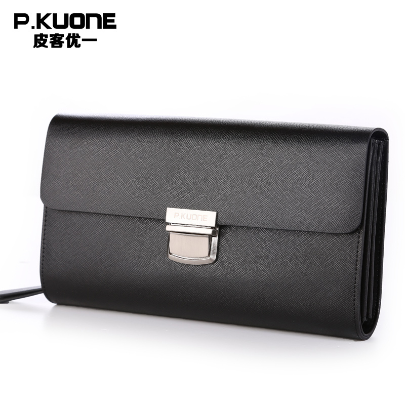 Luxury Limited Edition Spanish crown dedicated leather men clutch bag Fashion Big volume men wallets Protected by Metal lock free shipping 30pcs pneumatic 8mm to 8mm t shaped quick fitting connector pe8