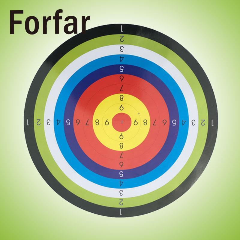 Forfar Shooting Paper Target Shoot Practice Game Ring Stripes Hunting Tool Airsoft Gun