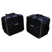 For BMW Luggage Bags Black PVC Expandable Inner Bags For BMW R1200GS WATER COOLED LC 2013