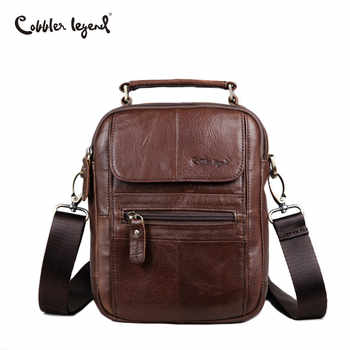 Cobbler Legend Men Messenger Bags Genuine Leather Handbag Shoulder Bag Famous Brand Business Crossbody Bag Bolsa Masculina - DISCOUNT ITEM  50 OFF All Category