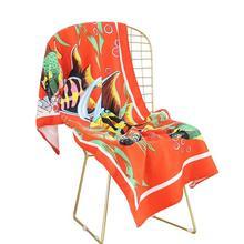 70*140 см полиэфирное волокно Многофункциональный полиэфирное волокно коврик для пикника Коврик для йоги солнцезащитный пляжный банный полотенце настенный гобелен