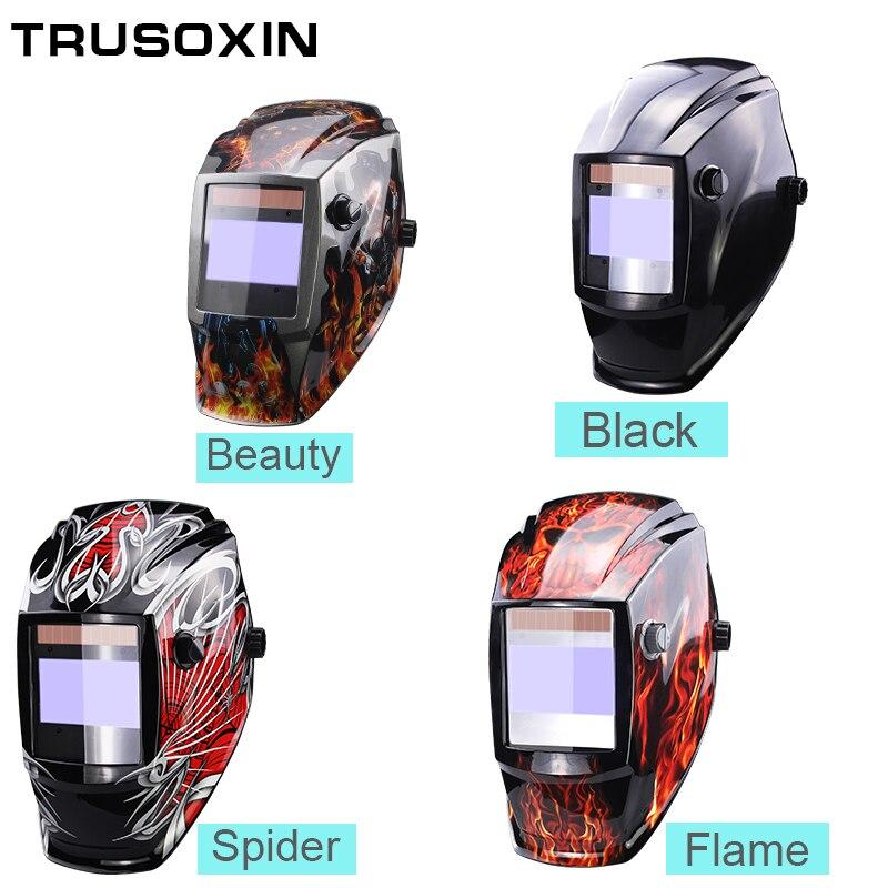Solar Auto Darkening Welding Helmet//Fface Mask//Electric Weldings Filter GlasWQ