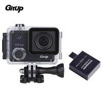 Gitup оригинальный G3 Duo 12MP 2,0 Touch ЖК дисплей Экран 170 градусов HDMI Действие Спорт Камера гироскоп + дополнительные 1 шт. Батарея
