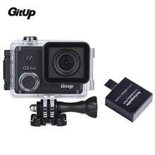 """Gitup G3 Originais Duo 12MP 2.0 """"LCD Touch Screen 170 graus HDMI Ação Esporte Câmera GIROSCÓPIO + Extra 1 PCS Bateria"""