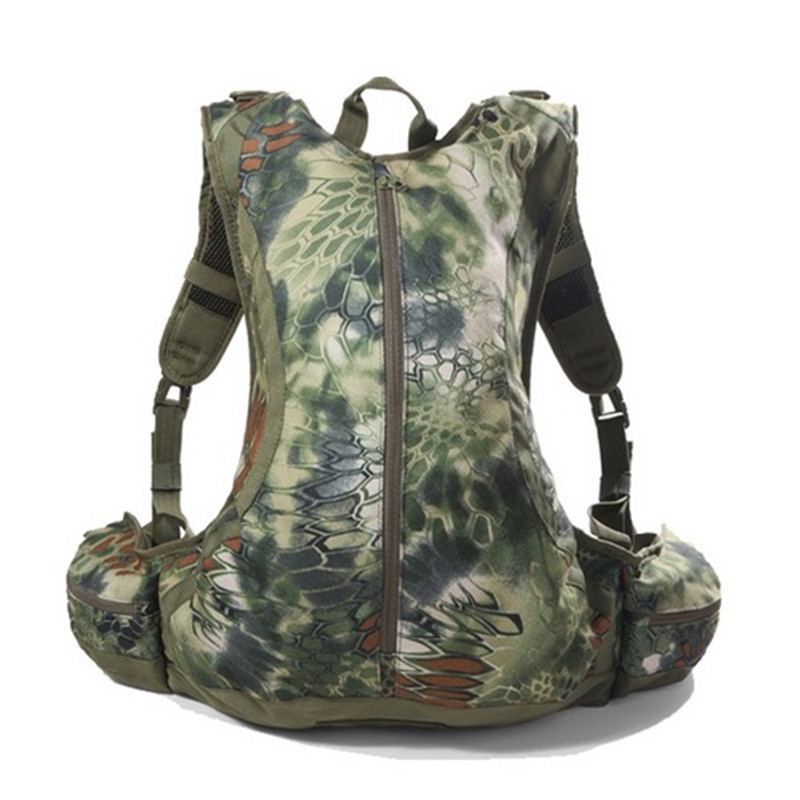 20L Outdoor Python Camouflage Camping Climbing Sports Hunting Riding Waterproof Backpack Cycyling Tactical Shoulder Bag Rucksack