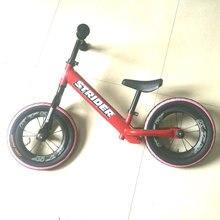 Wholeset lightweight balance Bike Carbon wheel 12 inch striders red  blue kid bicycle High Quality ktw ceramic bearing hub