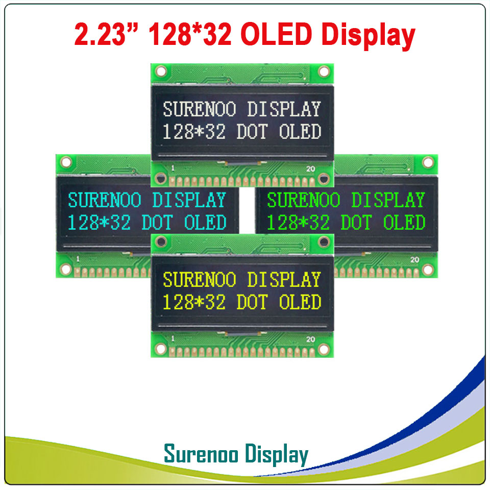 Real <font><b>OLED</b></font> <font><b>Display</b></font>, 2.23