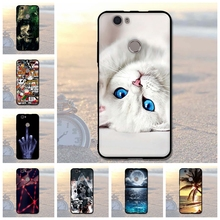 For Huawei Nova Case Cover 3D Relief Case Soft TPU Coque Back Cover Silicone Cases For HuaWei Nova 5.0 inches Mobile Phone Bags