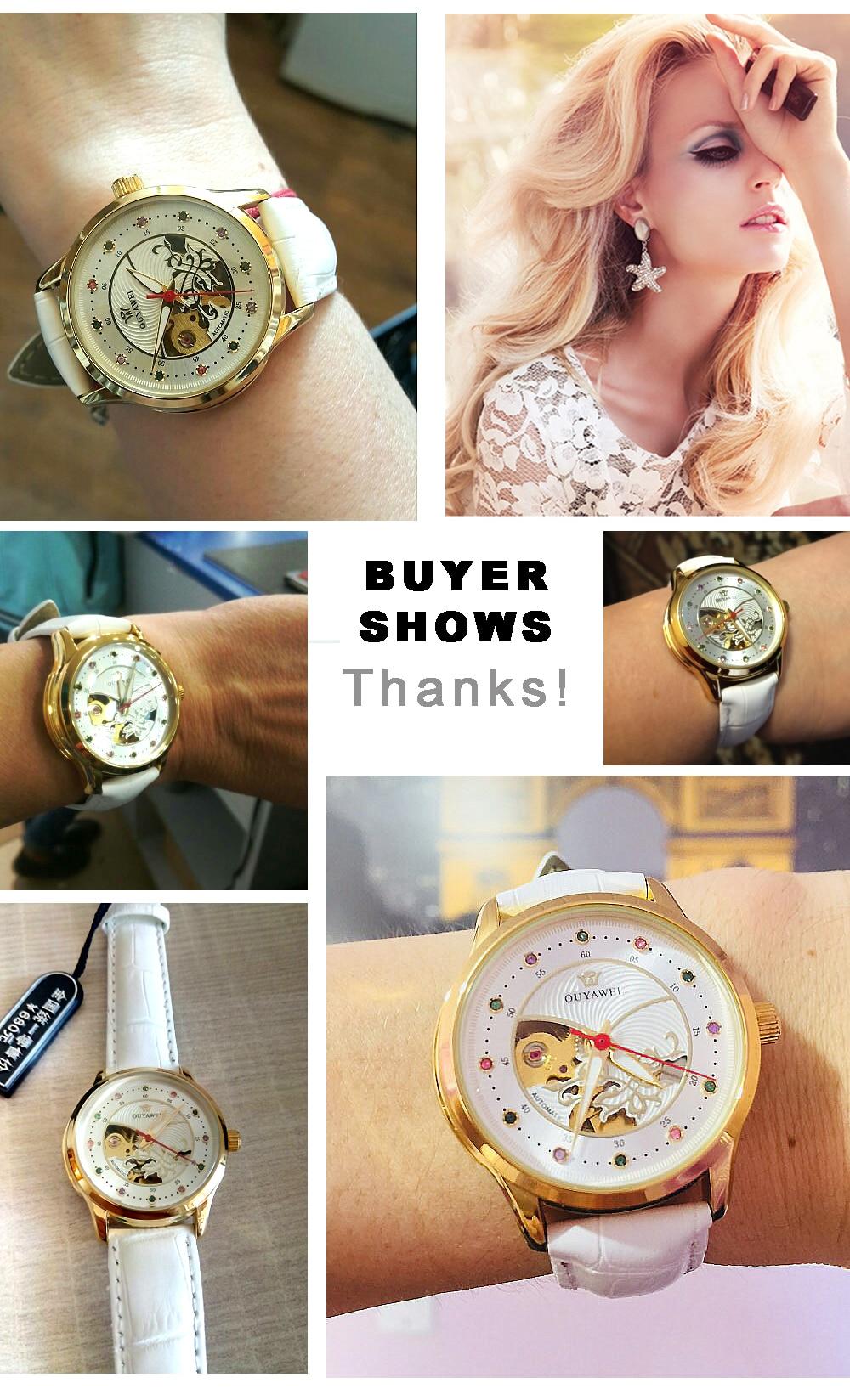 buywer show-mechanicl watch women