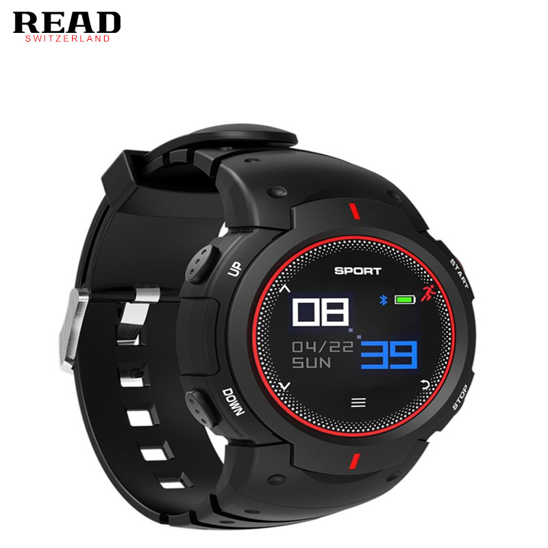 все цены на READ F13 Outdoor Sports Watch heart rate Monitor Smart watch Smart Bracelet Fitness Tracker Smart wristband PK xiaomi watch онлайн