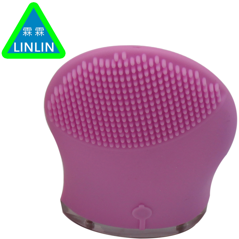 LINLIN clearer Silica gel Cleaning face instrument Electric Face Cleanser Vibrate Waterproof Silicone Skin Care Spa MassagerLINLIN clearer Silica gel Cleaning face instrument Electric Face Cleanser Vibrate Waterproof Silicone Skin Care Spa Massager