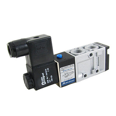 High quality MVSD-260-4EI 2 Position 5 Way Pneumatic Solenoid Valve Free shipping