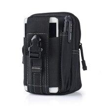 The New waist bag Waterproof Military Belt Waist Packs Unisex NylonMobile Phone Wallet Travel Bag High capacity Tactical Bag