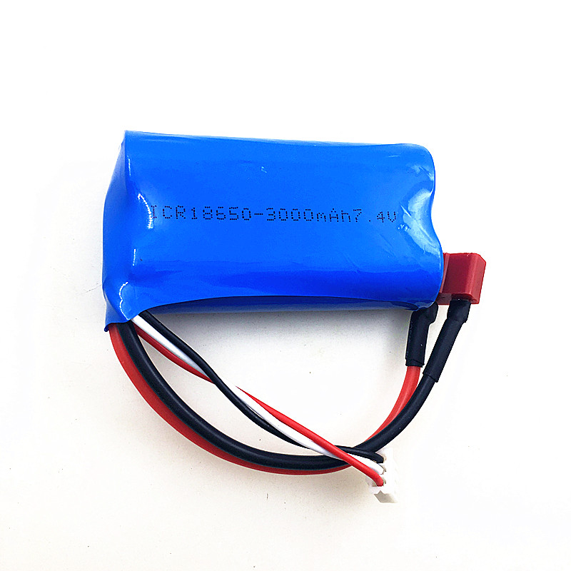 Original JJRC Q46 <font><b>battery</b></font> for Q46 RC Car Spare Parts Accessories <font><b>7.4V</b></font> <font><b>3000MAH</b></font> <font><b>lipo</b></font> <font><b>Battery</b></font> image