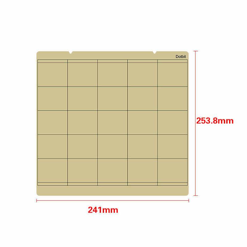 الربيع لوح فولاذي الحرارة السرير منصة الطباعة Buildplate + بى ورقة ل 3D طابعة Prusa i3 Mk3 UY8