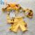 Traje de baño del bebé niños 90 cm-115 cm big hero 6 baymax muchachos del niño infantil del bebé del traje de baño traje de baño azul amarillo 3 unidades traje de baño