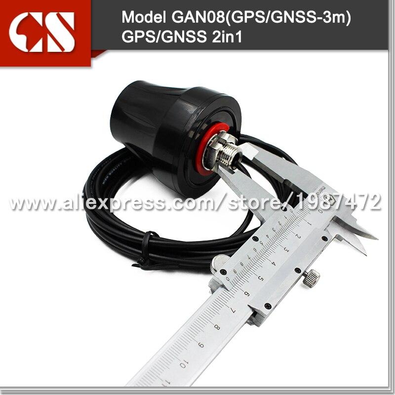 imágenes para GPS/GLONASS antena combinada, GNSS antena impermeable, Activa Antena GNSS Montaje Permanente Impermeable IP67 Del Envío libre 1 unid