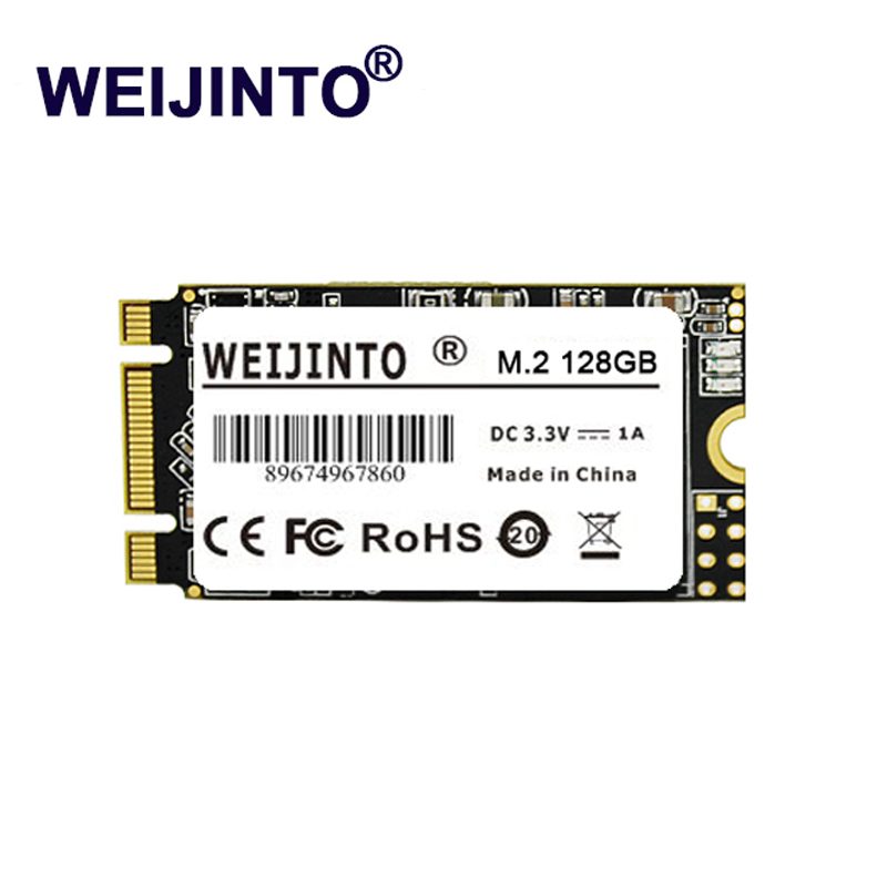 WEIJINTO SSD M 2 NGFF 256GB 250G 240GB internal Solid State Drive Hard Disk Ultra Thin