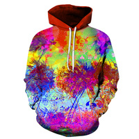 The New Paint Skull 3D Printed Hoodies Men Women Sweatshirts Hooded Pullover Brand 6xl Qaulity Tracksuits