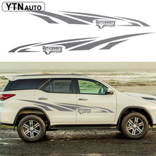 car stickers decal 2PC discovery off road styling car side door graphic vinyls accessories decal custom for toyota FORTUNER автокресло zlatek colibri красный 0 1 5 лет 0 13 кг группа 0