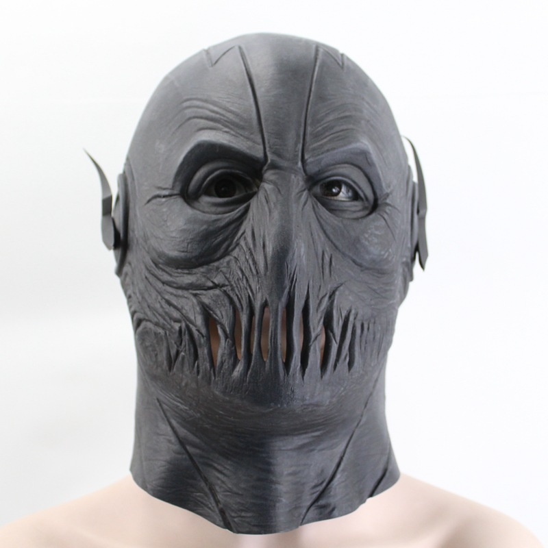 Zoom Mask The Flash Season 2 Helmet Full head Latex Mask Cosplay Halloween Prop