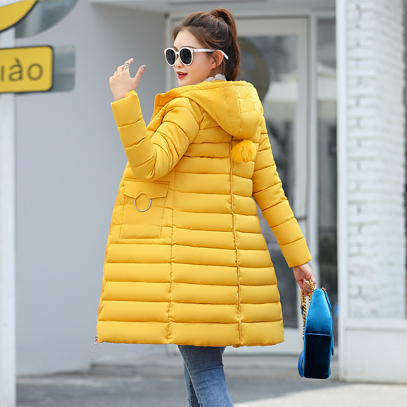 Winter Jacket New Fashion Women Down Jacket Slim Large Size Hooded Jacket Students Women Thick Warm Cotton Outwear #3